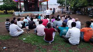 भाजपा मंडल के तत्वाधान में ग्राम बहादरपुर एवं लोधीपूरा में कार्यक्रम आयोजित किया गया