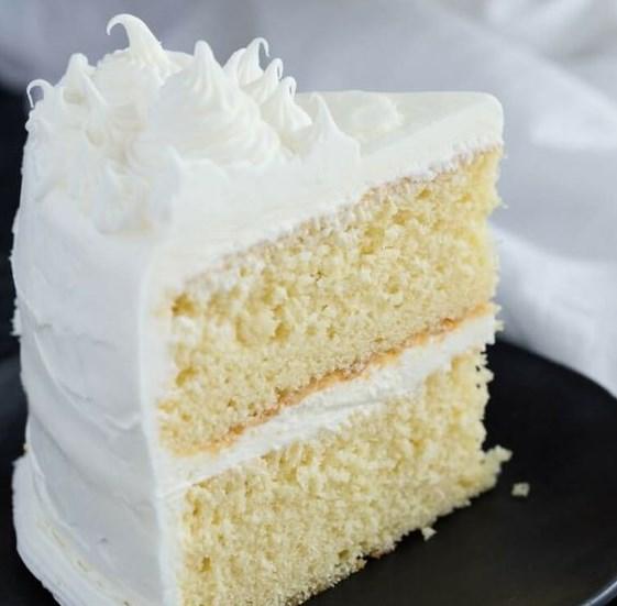 Basic Vanilla Cake #dessert #cakes