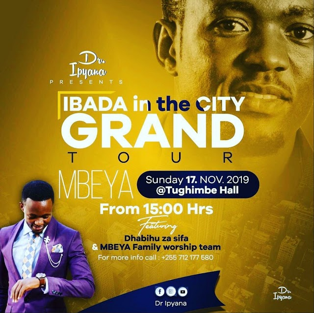 IBADA IN THE CITY MBEYA