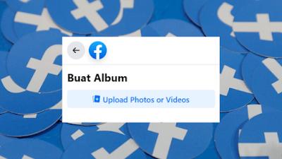 Cara Membuat Album Foto Di Facebook Lewat HP