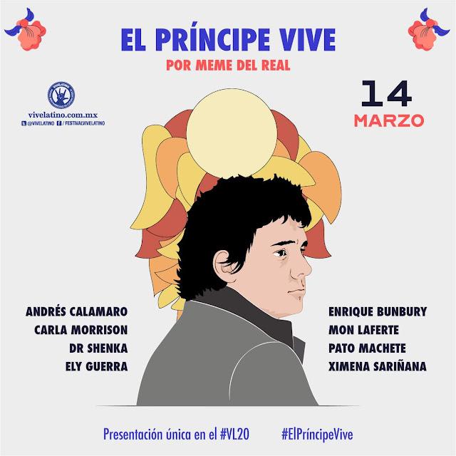 El Príncipe Vive. Vive Latino 2020