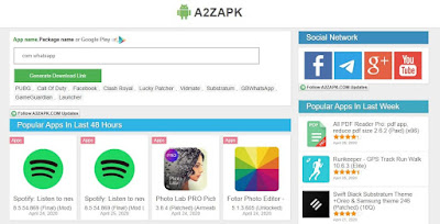 Daftar Situs Download Game Android APK Mod