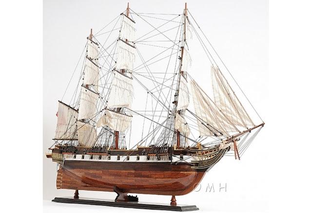USS Constellation Tall Ship Model