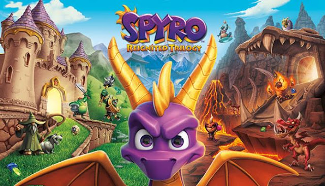 Spyro Reignited Trilogy — this time you can enjoy the modulations of scales and the fiery roar. All this will be accompanied by an excellent picture. Here you can have fun like the last time.