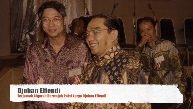 Innalillahi, Sahabat Dekat Gus Dur, Djohan Effendi Wafat