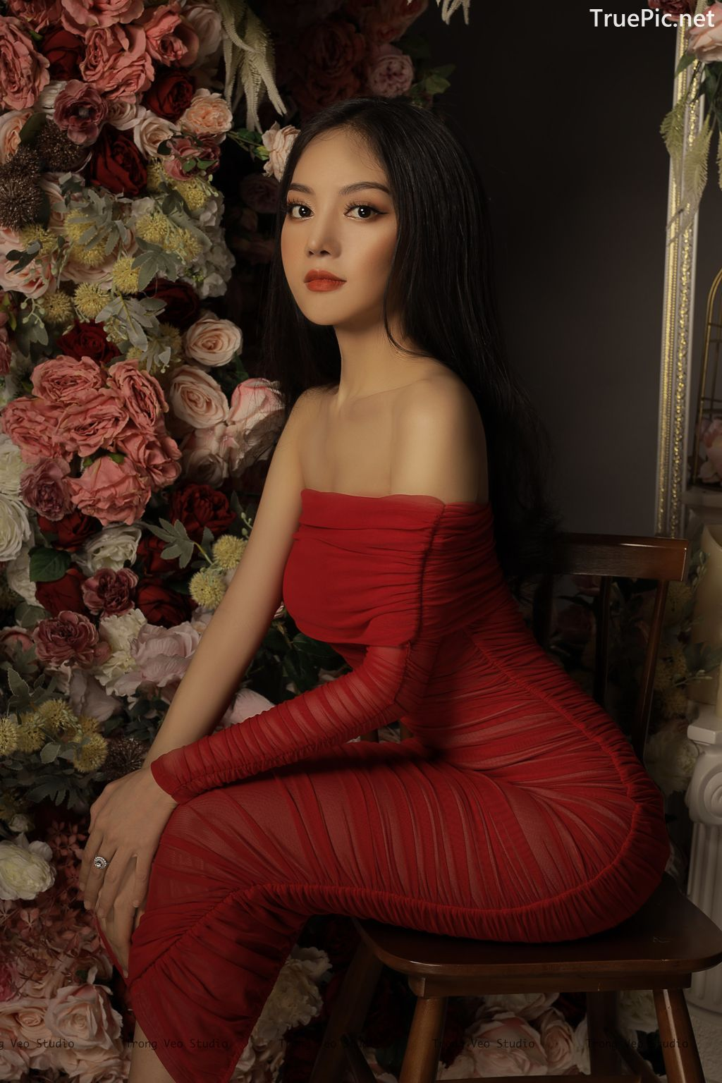 Image Vietnamese Model - Beautiful Girl and Flowers - TruePic.net - Picture-5