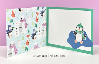 Stampin' Up! Sale-a-Bration Favorite: 8 Penguin Playmates Project Ideas ~ www.juliedavison.com #stampinup