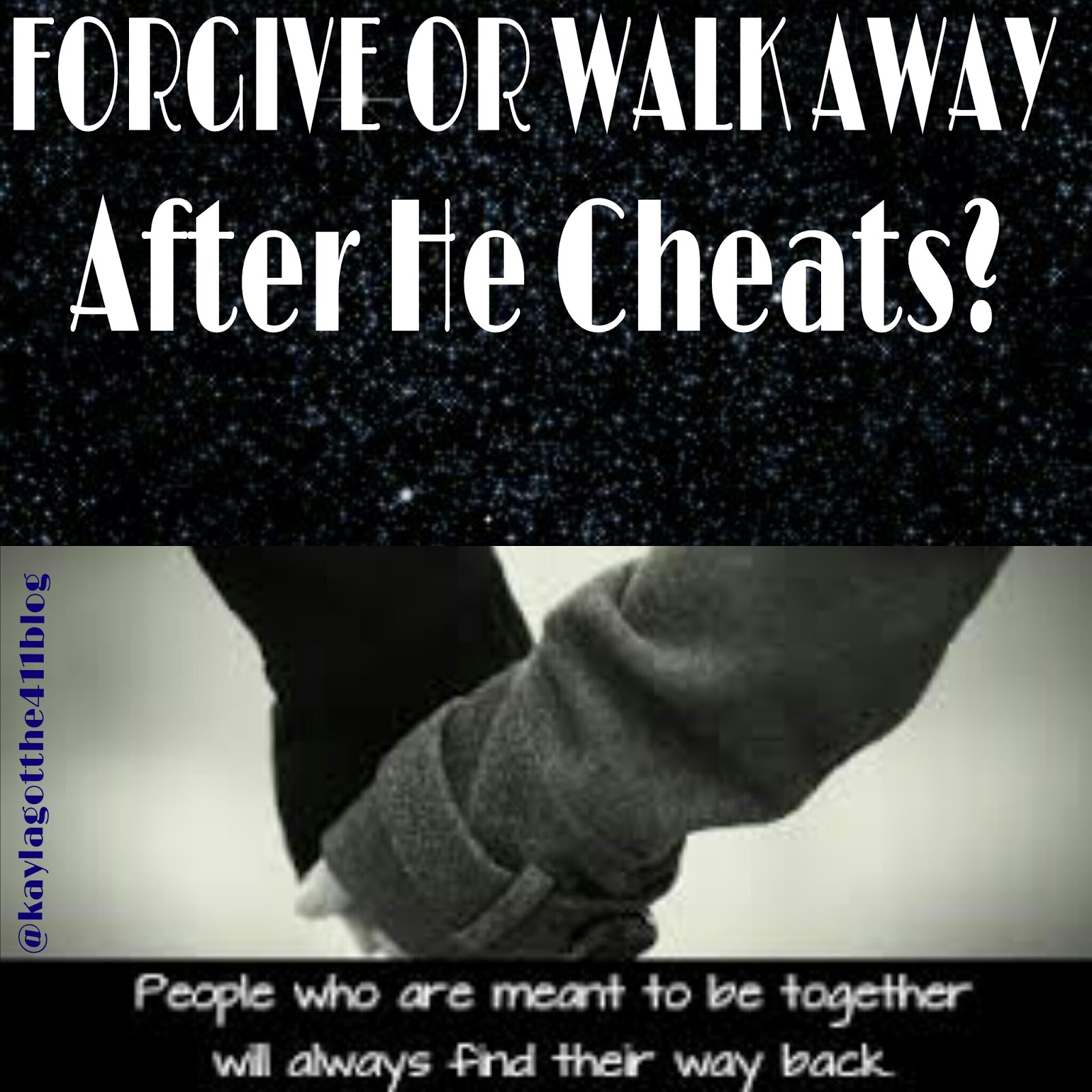 how can you forgive someone for cheating