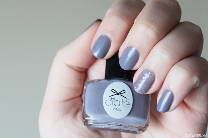 NOTD // Ciaté Pillow Fight + Snow Globe - CassandraMyee