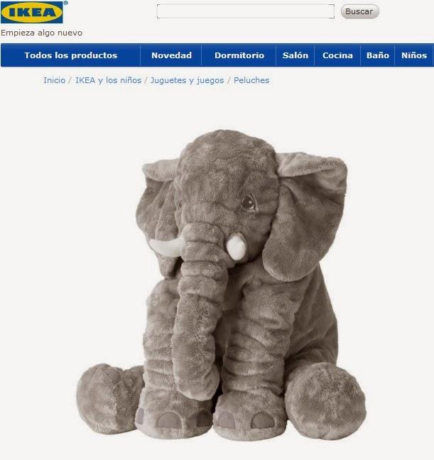 Elefante de ikea