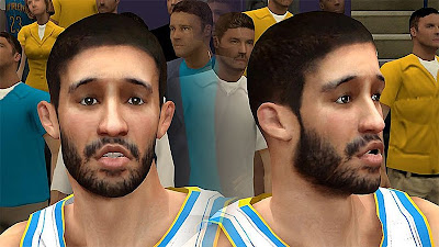 NBA 2K13 Greivis Vasquez Cyberface Patch