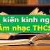 SÁNG KIẾN KINH NGHIỆM MÔN ÂM NHẠC THCS (Skkn âm nhạc 6, 7, 8, 9)