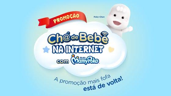 Promoção Chá de Bebê na Internet com MamyPoko