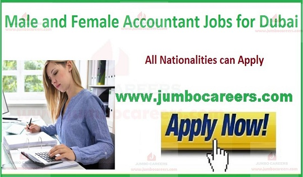 Urgent Accountant jobs in UAE, Current jobs in UAE,