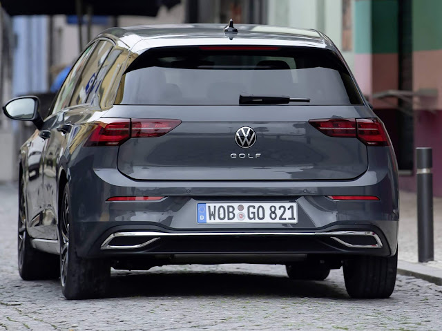 VW Golf 8 x BMW Série 1 x Mercedes-Benz Classe A