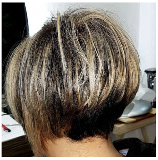 layered bob hairstyles for over 50
