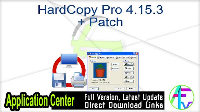 HardCopy Pro 4.15.3 + Patch