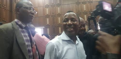 Breaking News:SOWORE RELEASED FROM DETENTION