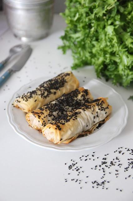 Cuillère et saladier : Croustillants de légumes parfumés au sésame