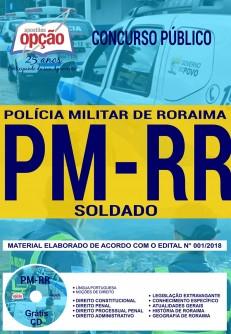 Apostila concurso da PM-RR 2018 para Soldado