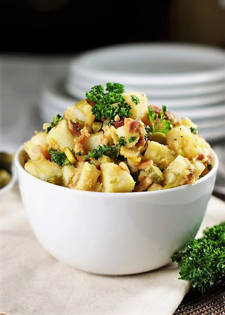 Warm German Potato Salad Image