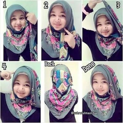 Style Hijab Anak Muda Simple Segitiga