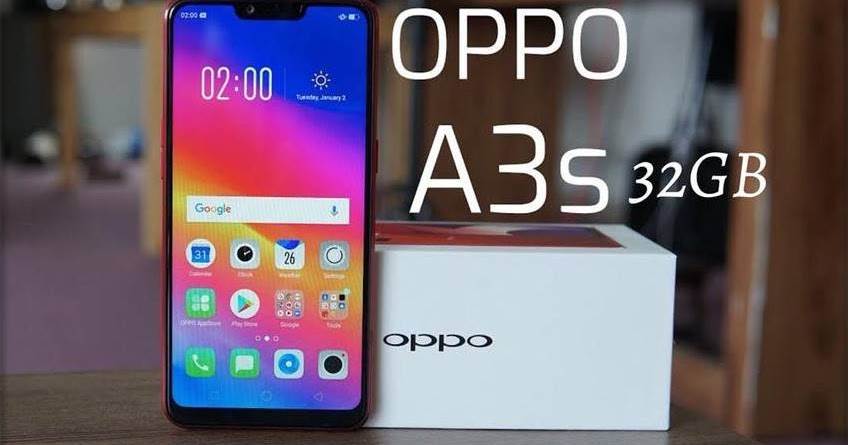 Oppo A3s Android Pie Update