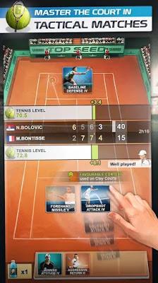 تحميل لعبة  TOP SPEED Tennis Manager للاندرويد