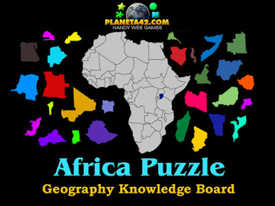 Africa Country Puzzles