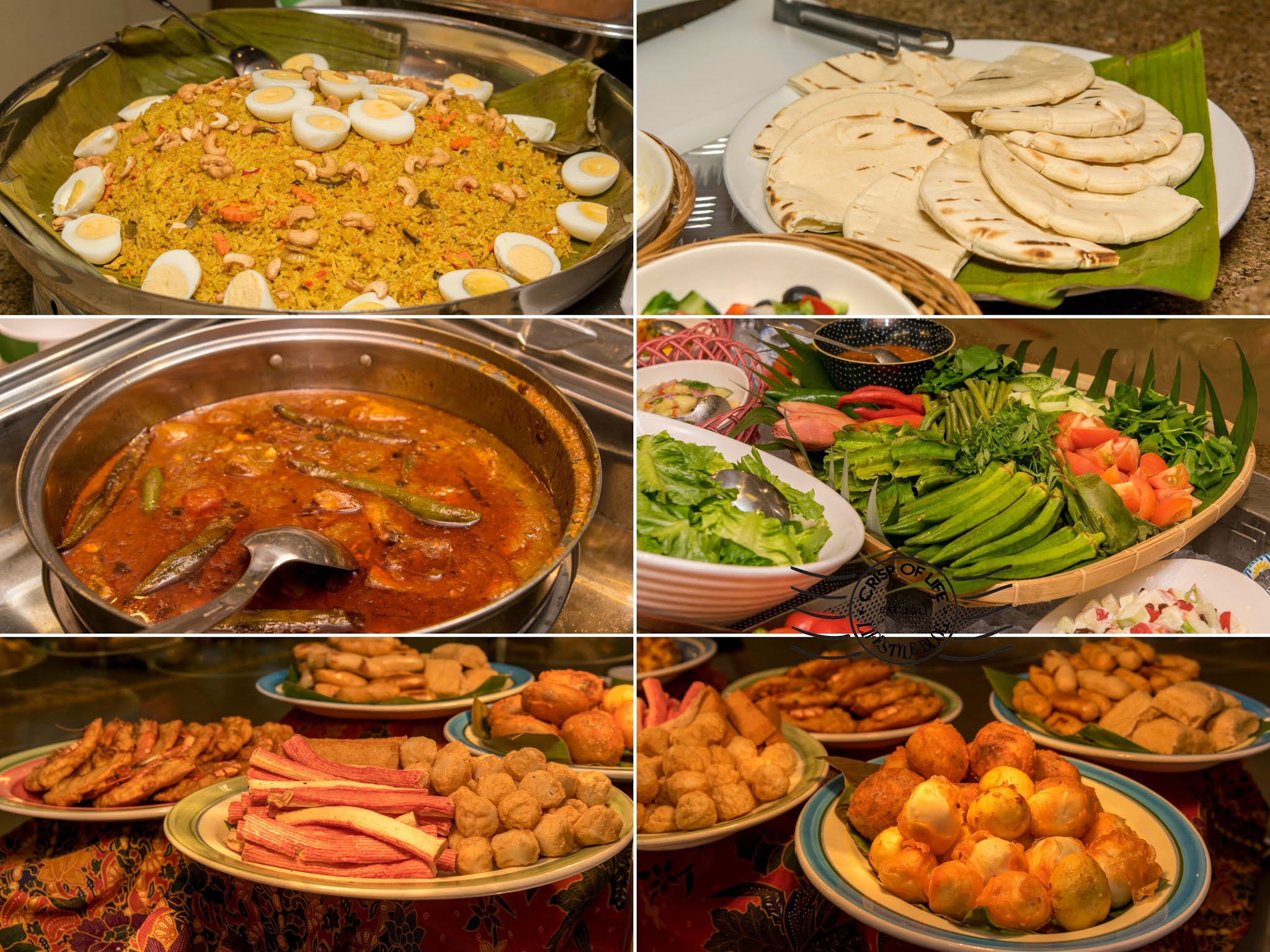 Eat-All-You-Can Selera Kampung Buy 1 Free 1 Every Sunday - Thursday RM 64 nett per adult @ Golden Sands Resort, Penang