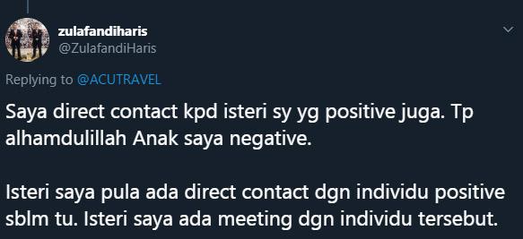 Ikuti Perkongsian Pengalaman Pesakit Malaysia Disahkan Positif COVID-19