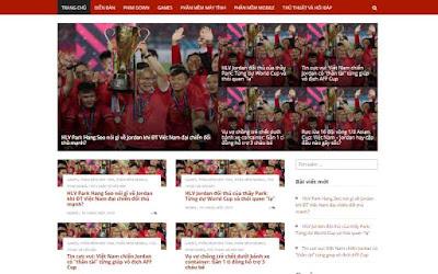 Giao Diện Website WordPress Tin Tức Chuẩn Seo 2019