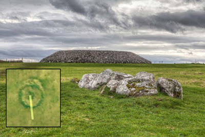 Il monumento appena scoperto è stato trovato nel cimitero megalitico di Carrowmore (nella foto) a Sligo.