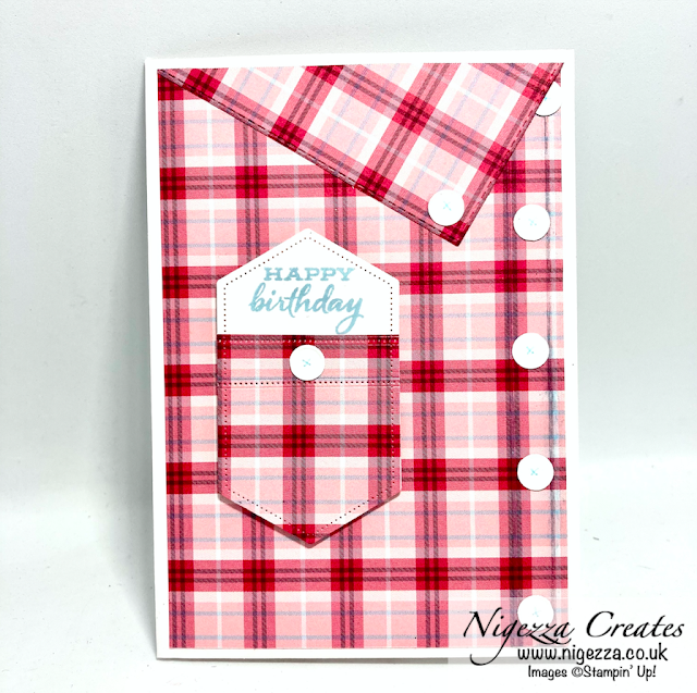 Masculine Shirt Card With A Pocket