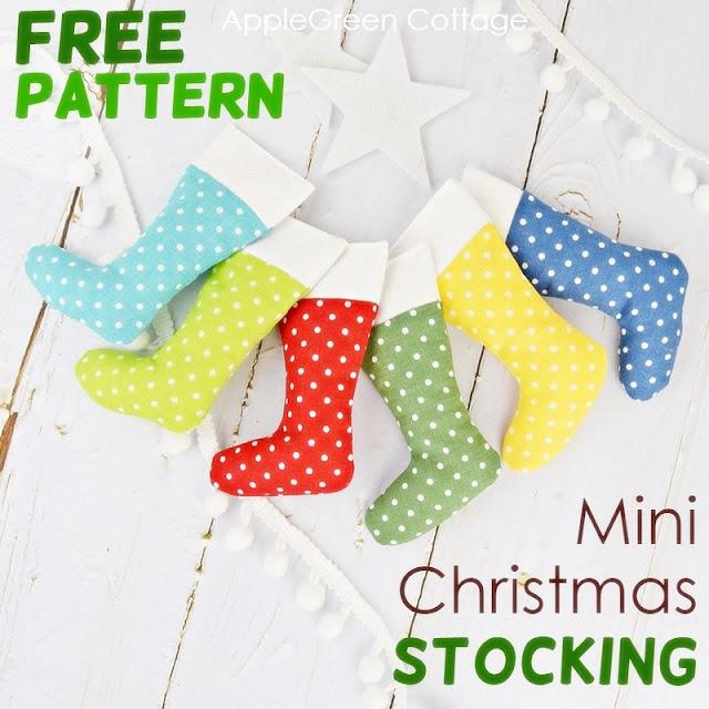 mini Christmas stocking