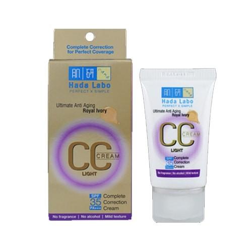 Hada labo CC Cream Ultimate Anti Aging Royal Ivory