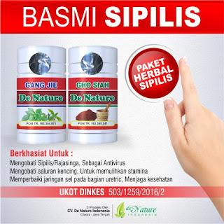 Obat Herbal Alami Untuk Mengatasi Penyakit Sipilis