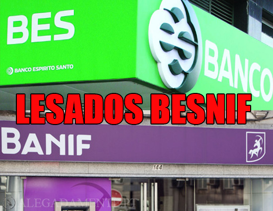 Alegadamente: Imagens de sucursais BES e BANIF – Lesados BESNIF
