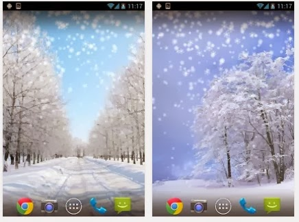 Winter Snow Live Wallpaper For Android Download App Free From PlayStore - Find Android Appz