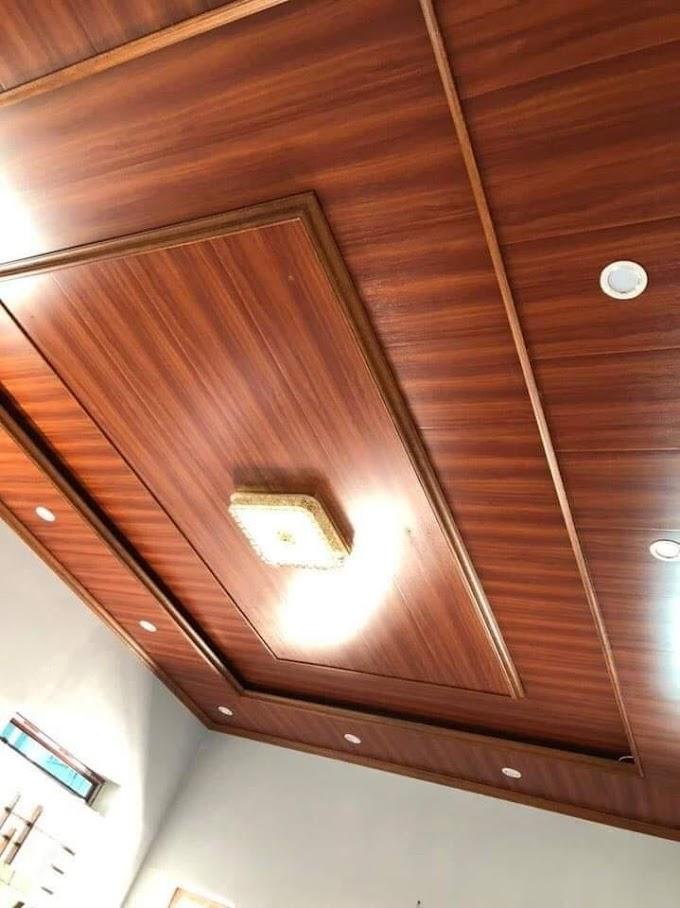 Giá trần nhựa giả gỗ pvc nano Tại tphcm Sài gòn theo M2 hoàn thiện trọn gói 2021 mới nhất