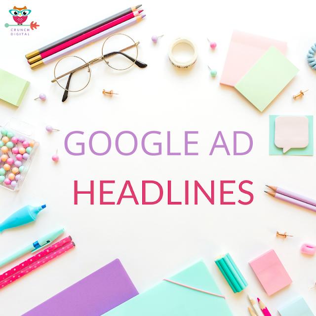 Google Ad Headlines