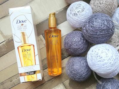 Dove: Pure Care Dry Oil, Lekki olejek do wszystkich rodzajów włosów