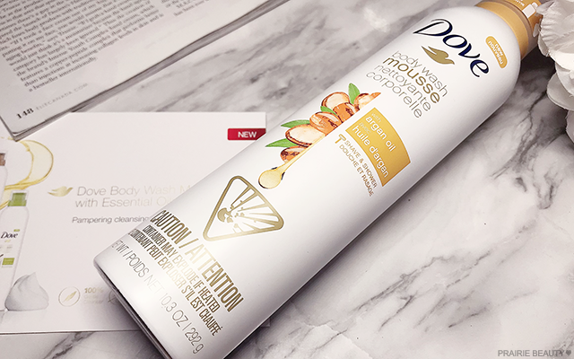 Prairie Beauty Review Dove Body Wash Mousse With Argan Oil