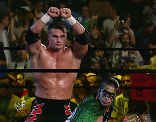 WWE / WWF Unforgiven 2001 - Lance Storm and The Hurricane teamed up in the opening match