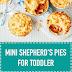 Mini Shepherd's Pies for Toddler
