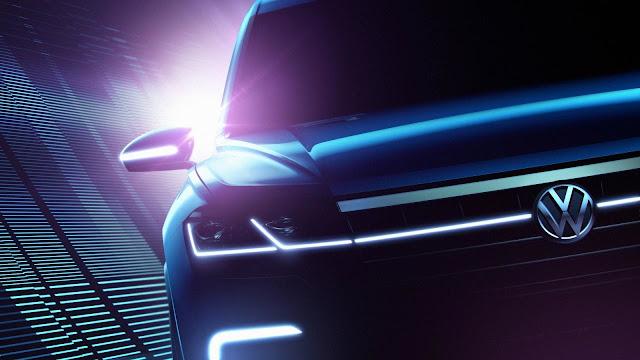 новый концепт внедорожника Volkswagen