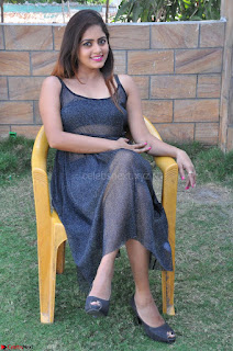 Pragya Nayan New Fresh Telugu Actress Stunning Transparent Black Deep neck Dress ~  Exclusive Galleries 065.jpg