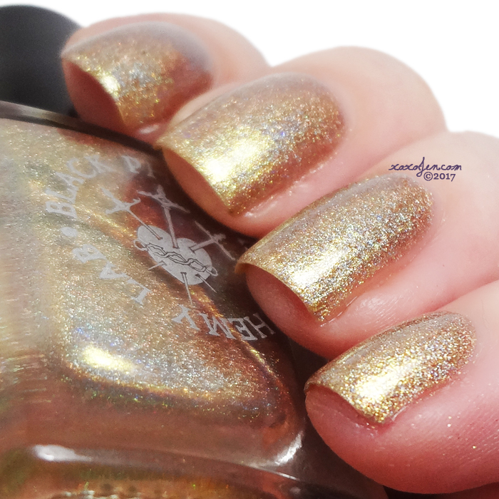 xoxoJen's swatch of Black Phoenix Alchemy Lab Becoming Thunder