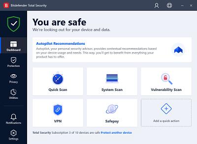 Bitdefender Total Security Full Version Gratis