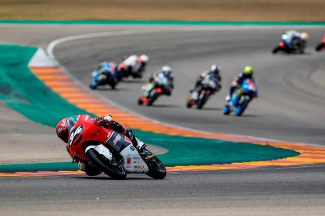 Balapan Perdana di Aragon, Mario Sukses Finish 10 Besar CEV Moto3 Seri 4